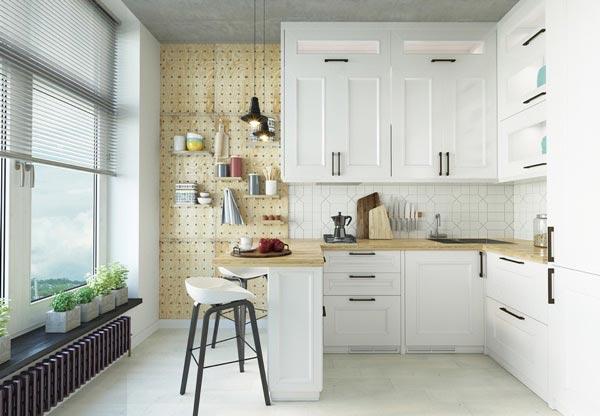 Tư vấn thiết kế nội thất phòng bếp Bắc Âu