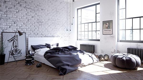 Mẫu thiết kế nội thất theo phong cách Bắc Âu dịu dàng và nhẹ nhàng