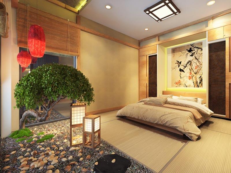 Phòng ngủ thiết kế phong cách Nhật Bản sẽ mang đến cảm giác bình yên, thư giãn nhất