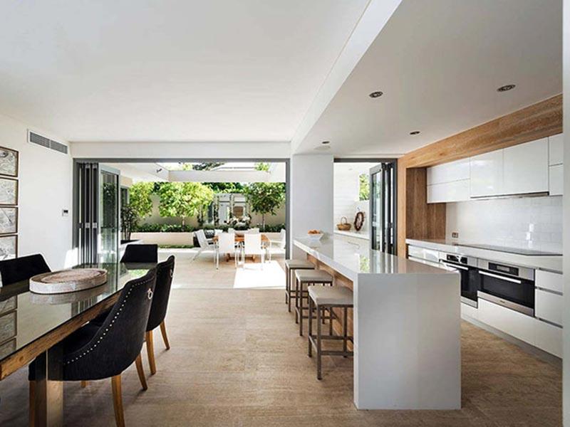 Xu hướng thiết kế nội thất phòng bếp theo phong cách mở