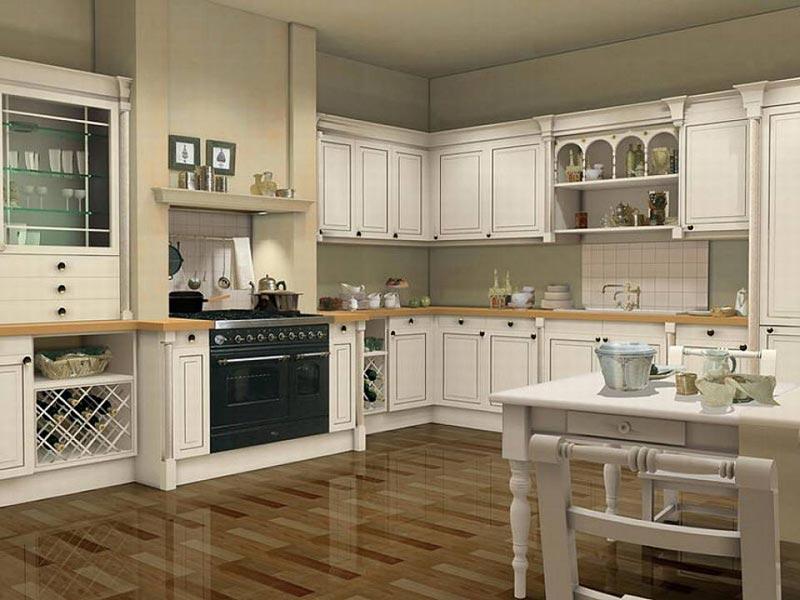 Thiết kế bếp toát lên sự xa hoa, quyền quý, mang lại sự tiện nghi cùng giá trị thẩm mỹ cao