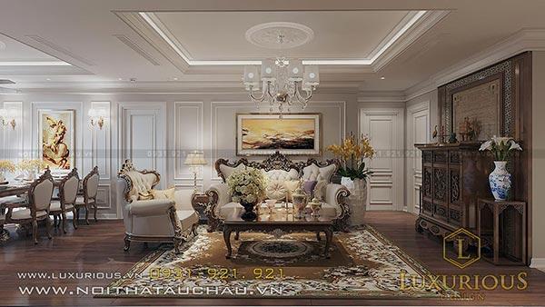 Mẫu thiết kế nội thất Chung Cư Landmark 81 Tầng theo phong cách tân cổ điển