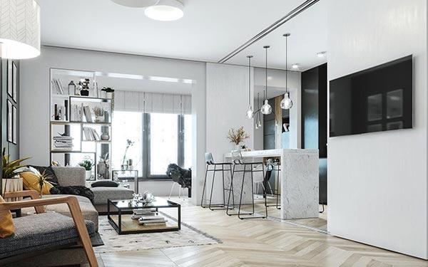 Phong cách nội thất Scandinavian là gì ? biệt thự Bắc Âu là gì