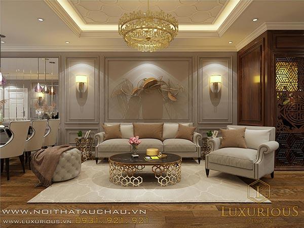 Phong cách thiết kế nội thất chung cư Diamond Flower Tower