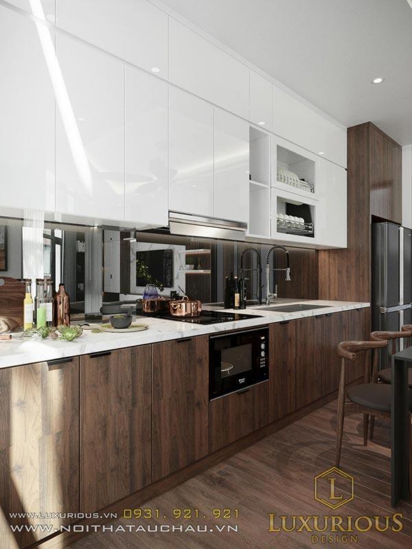 Phong cách thiết kế nội thất nhà phố hiện đại