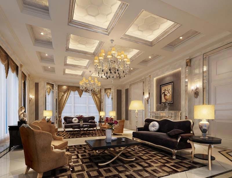 Không gian phòng khách để tăng giá trị của ngôi nhà