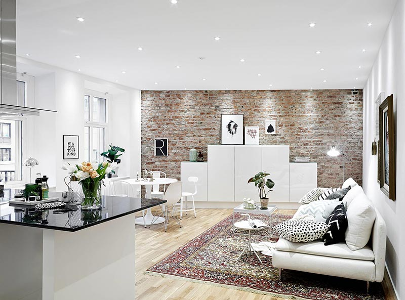 Phong cách đương đại trong thiết kế nội thất phòng khách