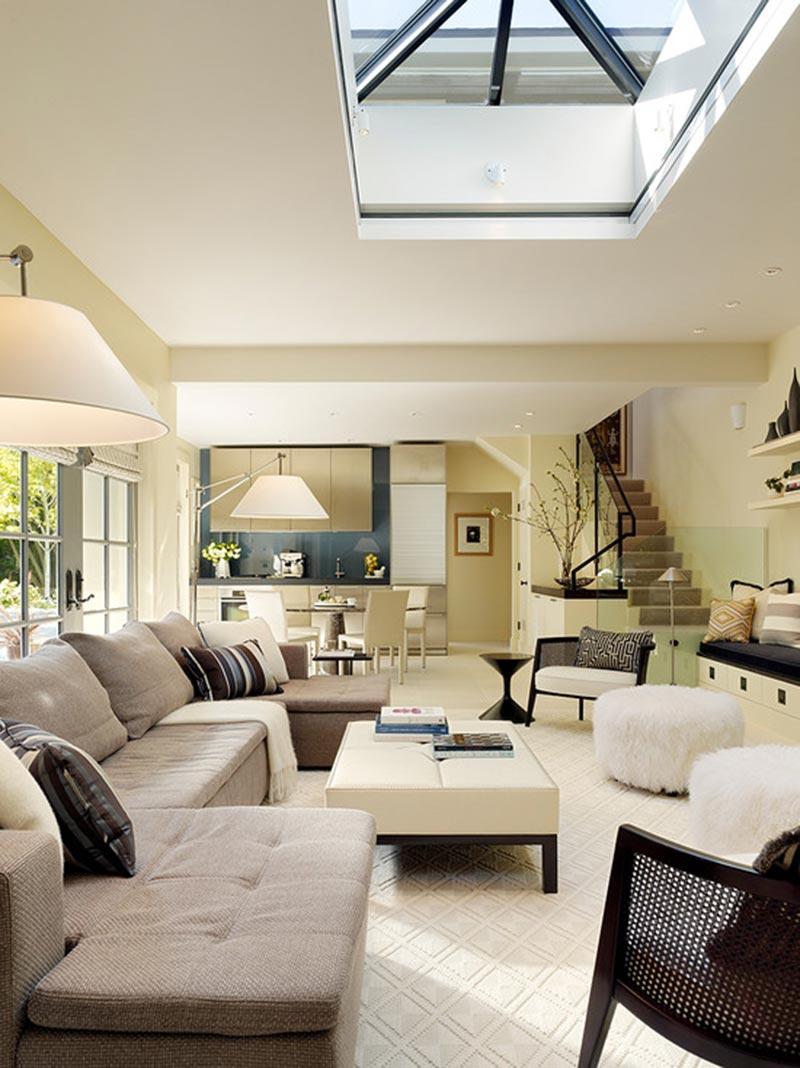 Mẫu thiết kế nội thất phòng khách đương đại đẹp nhất 2021