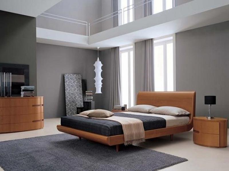Với tone màu trung tính nhã nhặn mang đến không gian phòng ngủ ấm cúng