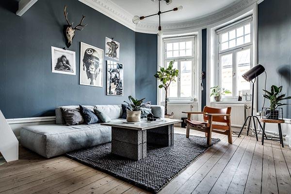 Mẫu thiết kế nội thất nhà phố theo phong cách Bắc Âu
