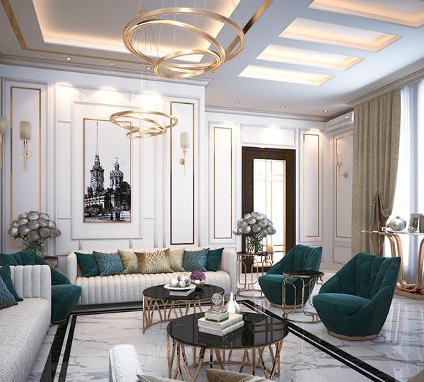 Đặc trưng dễ nhận biết phong cách nội thất tân cổ điển