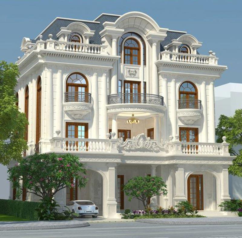 Đặc trưng phong cách kiến trúc cổ điển Châu Âu