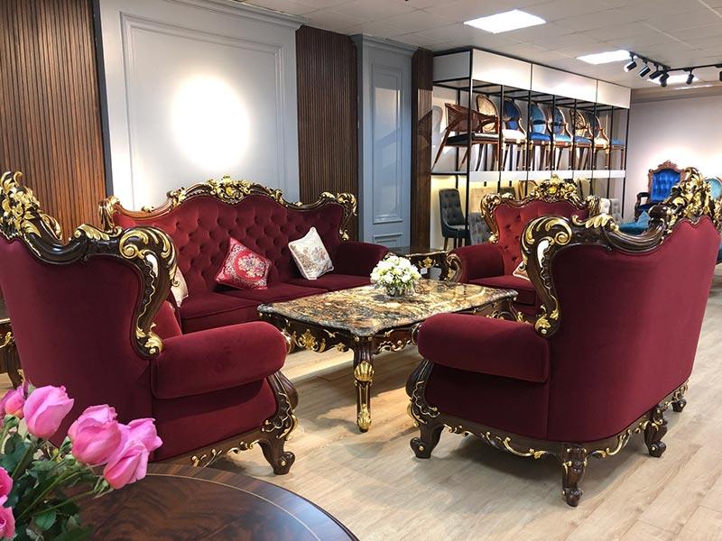 Các mẫu sofa phong cách tân cổ điển Châu Âu