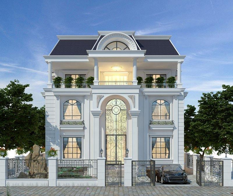 Mẫu kiến trúc cổ điển tân cổ điển