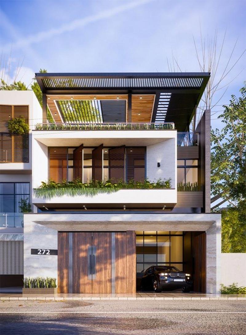 Mẫu công trình kiến trúc hiện đại tại Việt Nam