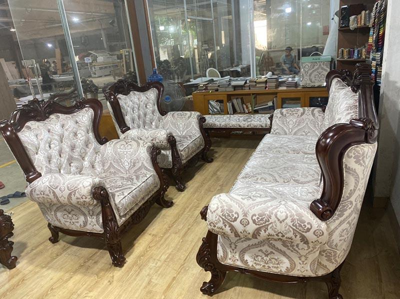 Bộ bàn ghế sofa giá trên 30 triệu
