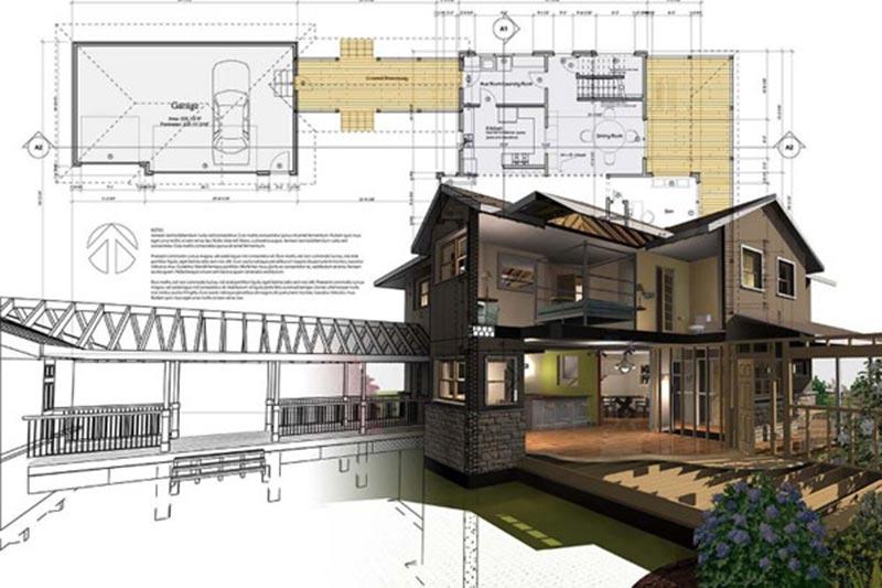 Nguyên lý thiết kế kiến trúc nhà phố, biệt thự, khách sạn, nhà hàng