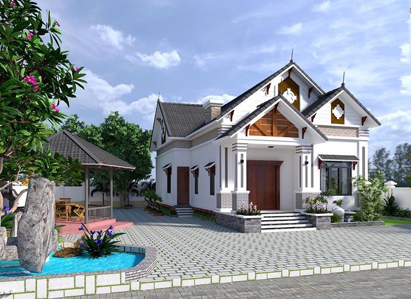 Luxurious Design - Công ty tư vấn thiết kế kiến trúc nội thất nhà cấp 4