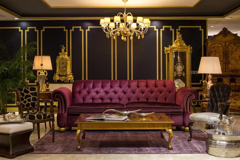 Thiết kế nội thất nhà biệt thự phong cách cổ điển Italia
