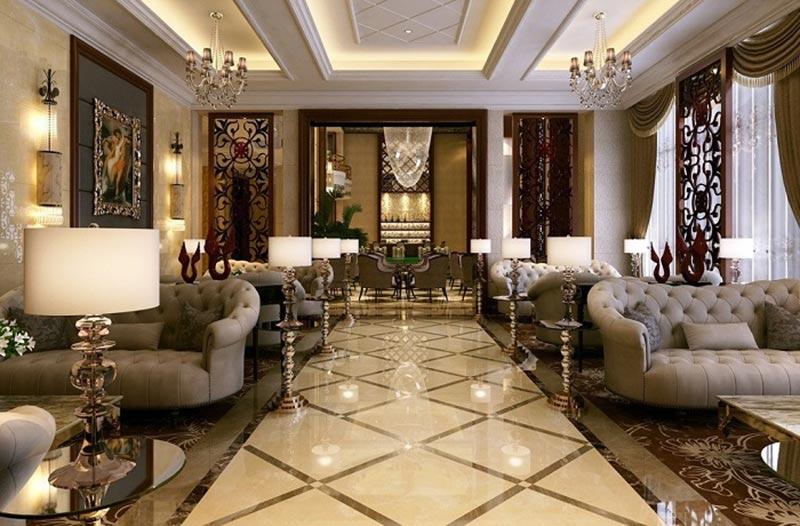 Khách sạn cổ điển Pháp vẻ đẹp quyền quý, vương giả