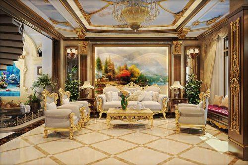 thiết kế nội thất Pháp