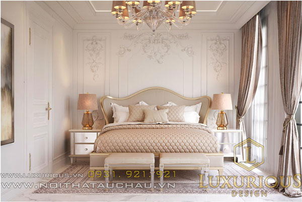 Thiết kế nội thất biệt thự Pháp