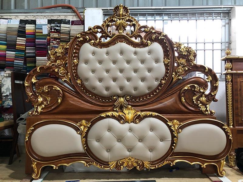Đơn vị thiết kế thi công sản xuất nội thất giường ngủ tân cổ điển