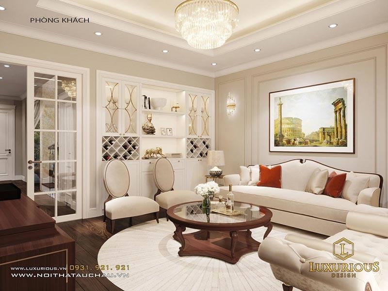 Luxurious - Đặt đóng bàn ghế sofa phong cách bán cổ điển