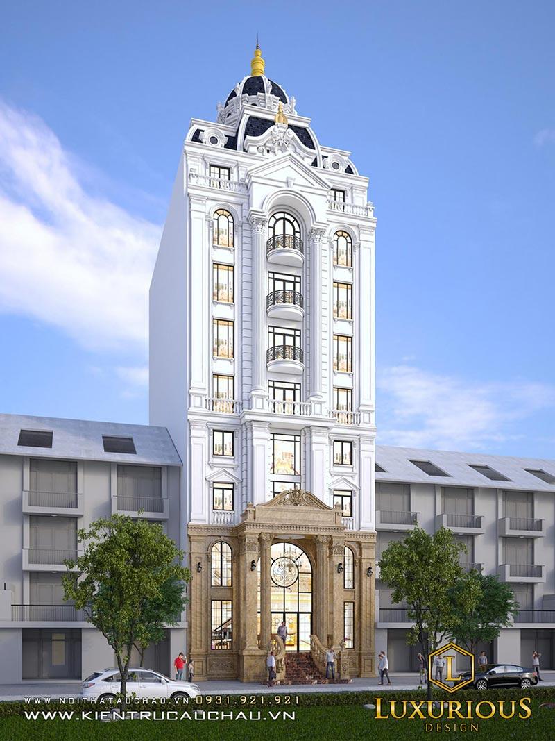 Thiết kế kiến trúc khách sạn 4 sao