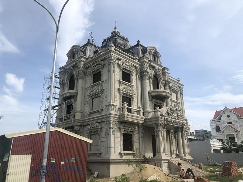 Mẫu công trình kiến trúc cổ điển
