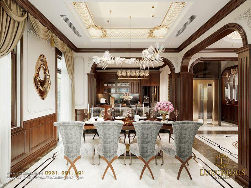 Thiết kế nội thất biệt thự Liền kề Geleximco đẹp