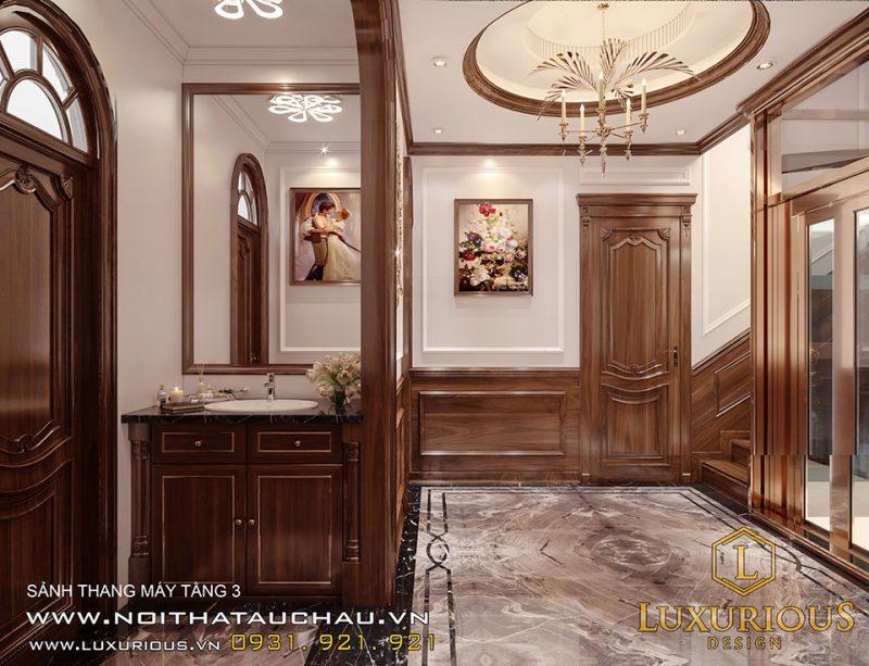 Thiết kế nội thất biệt thự Liền kề Geleximco sang trọng