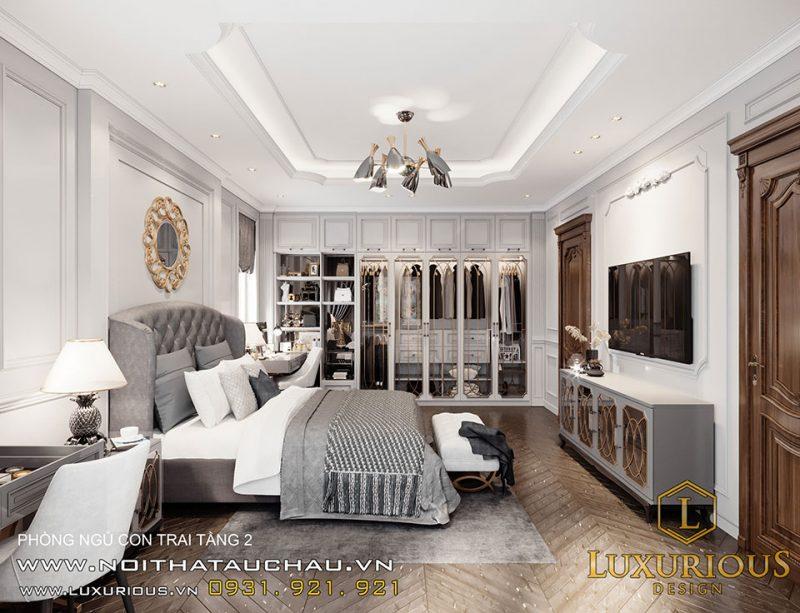 thiết kế phòng ngủ biệt thự Liền kề Geleximco