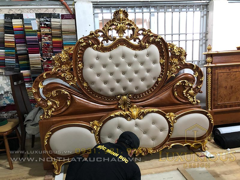 Tư vấn thiết kế sản xuất thi công giường ngủ theo yêu cầu