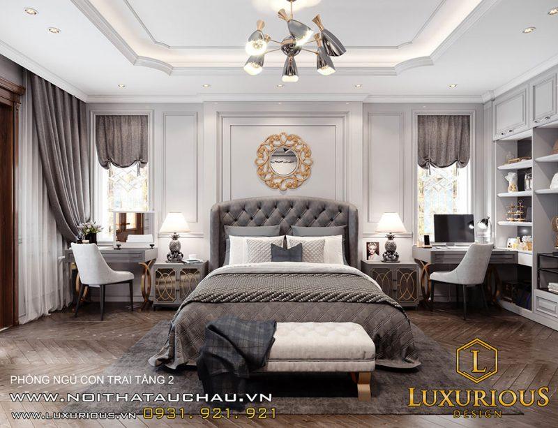 Thiết kế nội thất biệt thự Liền kề khu đô thị Geleximco