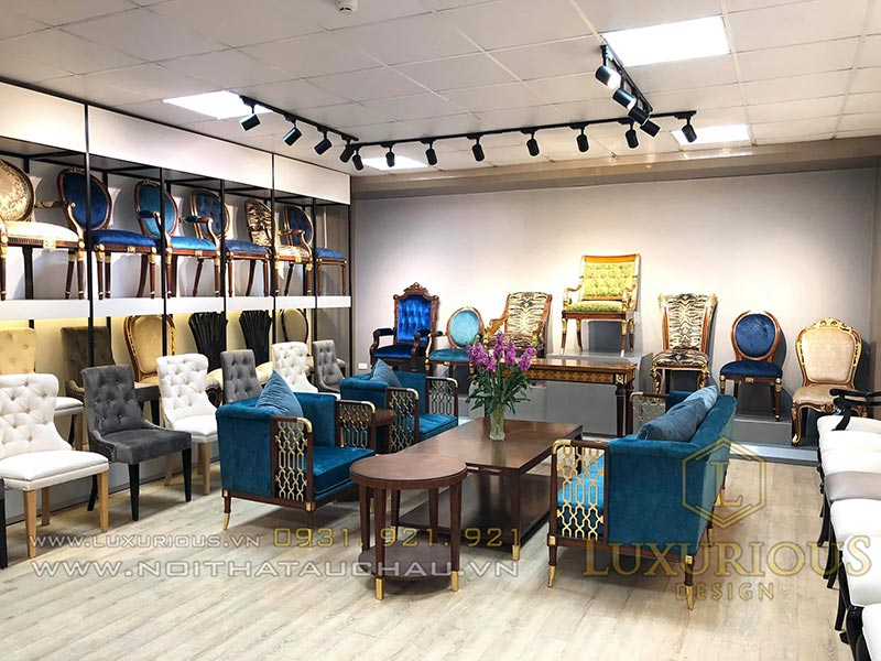 Showroom nội thất Luxurious
