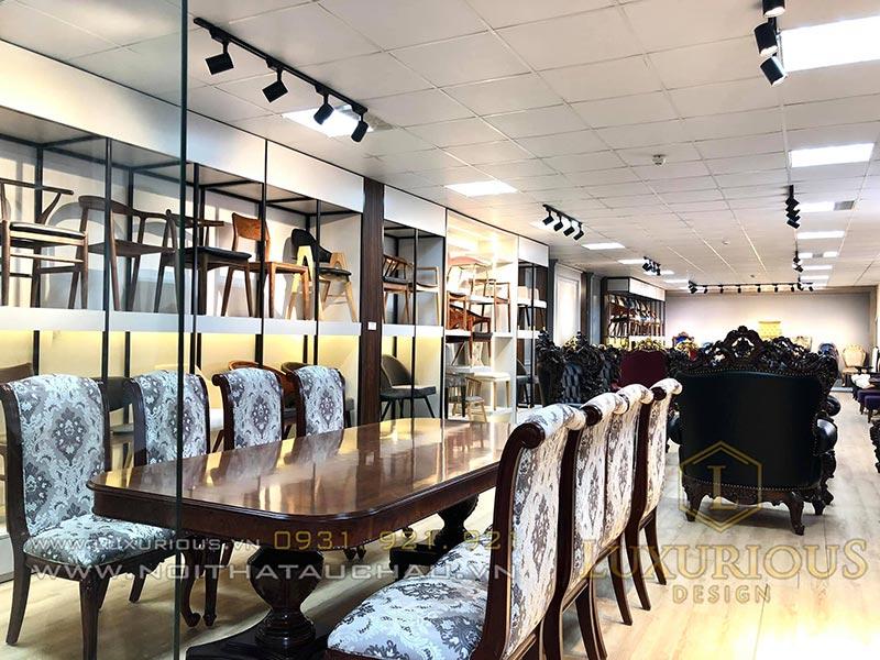 Showroom bàn ghế nội thất Luxurious Design