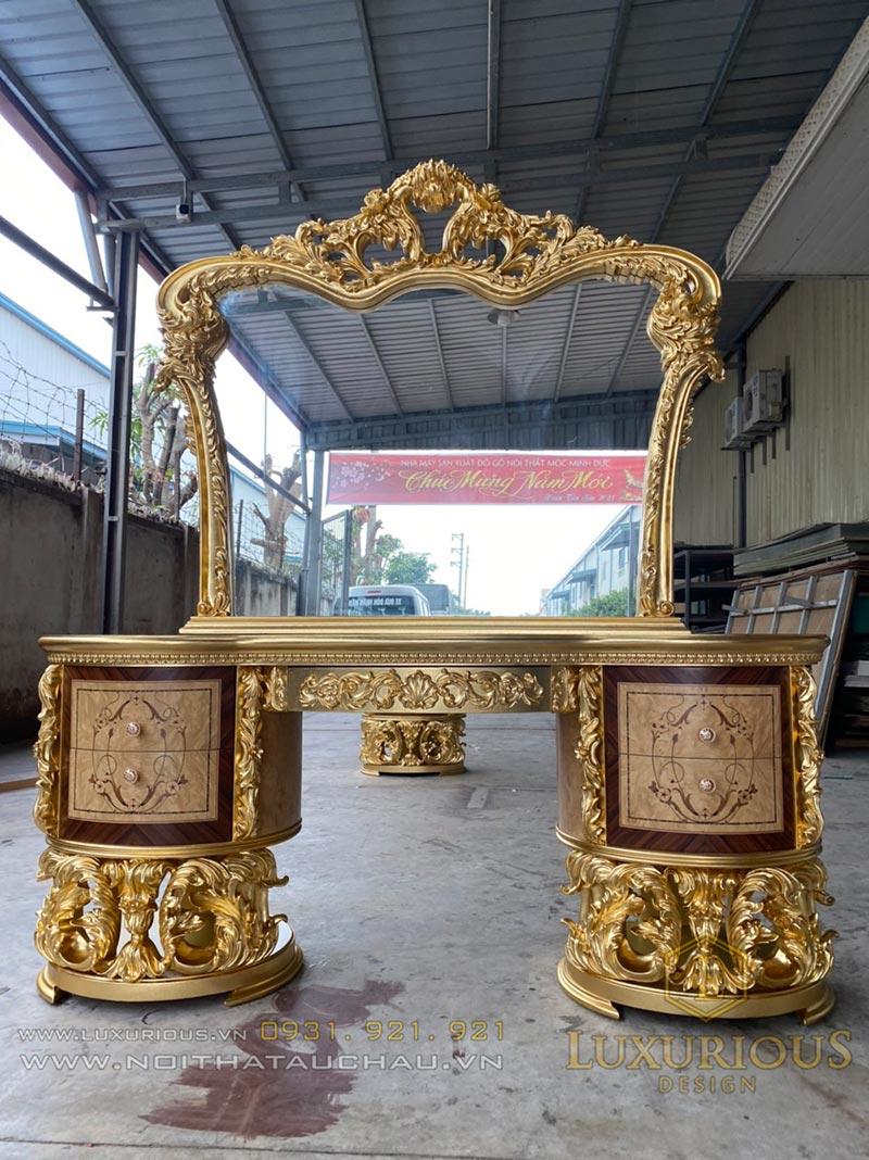 Nhà máy sản xuất bàn trang điểm sang trọng quý tộc