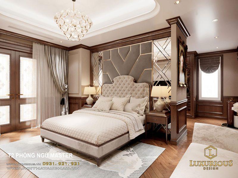 Thiết kế phòng ngủ biệt thự liền kề