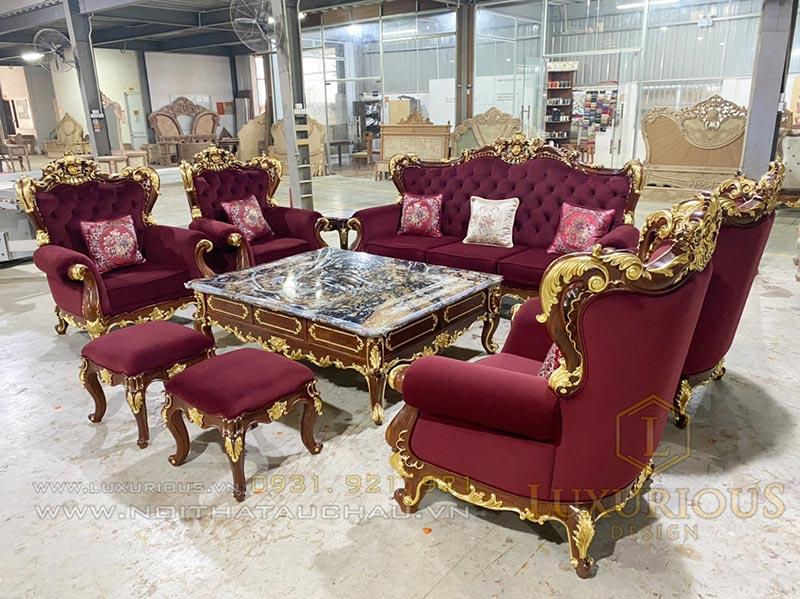 Nhà máy sản xuất nội thất bàn ghế sofa Mộc Minh Đức - Luxurious Design