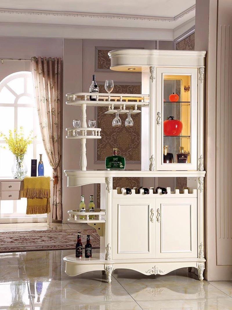 Tủ rượu kiểu quầy bar cho phòng bếp mini