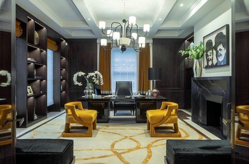 Thiết kế nội thất phòng làm việc biệt thự Sotheby's International Realty