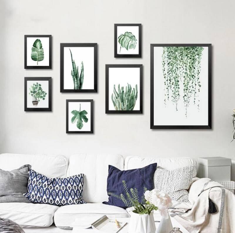 Trang trí tường bằng các bức tranh nghệ thuật