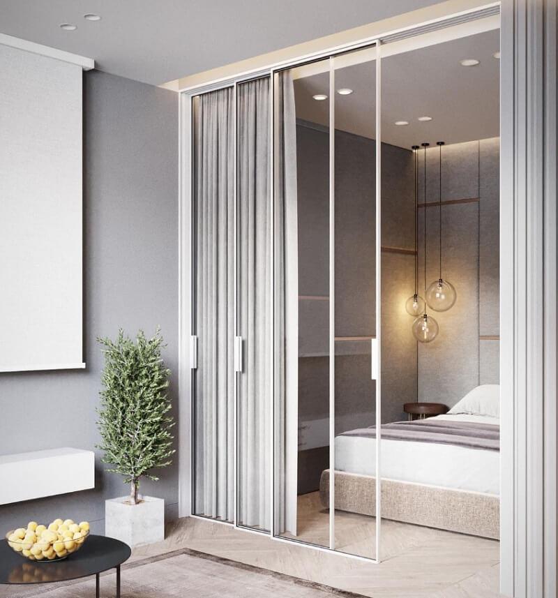 Không gian phòng ngủ chung cư 50m2