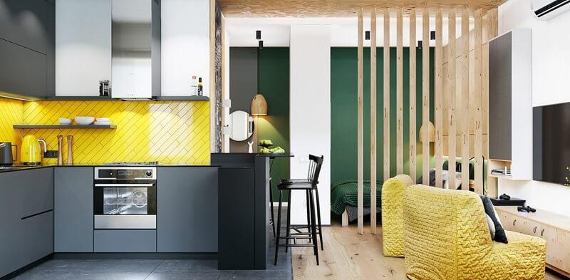 Mẫu thiết kế nội thất chung cư diện tích nhỏ 30m2