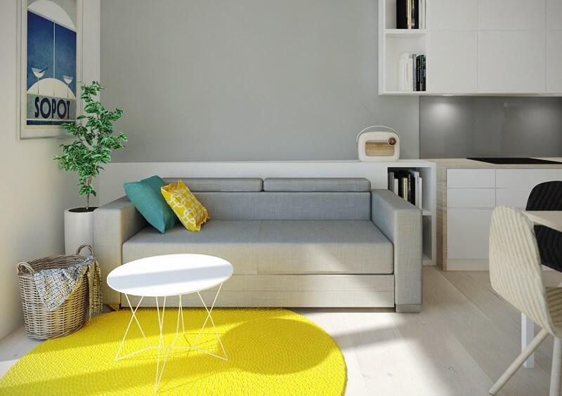 Mẫu thiết kế nội thất chung cư diện tích nhỏ 40m2