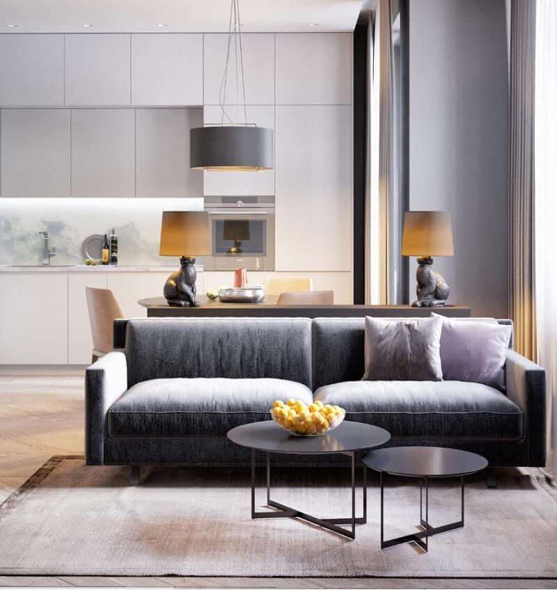 Mẫu thiết kế nội thất chung cư diện tích nhỏ 50m2