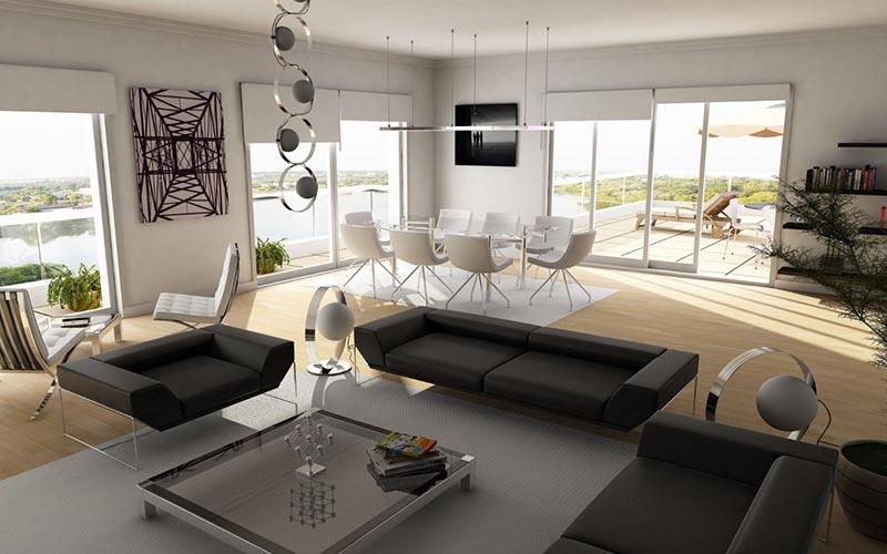 nội thất đơn giản hiện đại