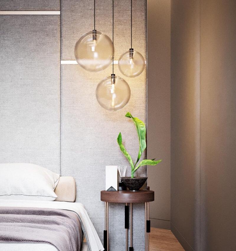 Thiết kế đầu giường phòng ngủ nhỏ