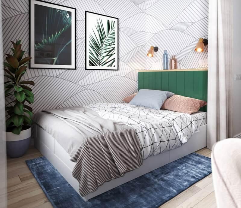 Thiết kế nội thất phòng ngủ chung cư diện tích nhỏ 35m2